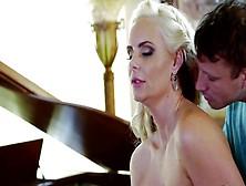 Two Hard Dicks Bring Blonde Pornstar Lots Of Fun And Satisfactio