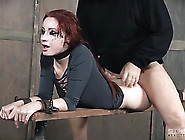 Rough Mouth And Cunt Pounding Of A Sub Girl