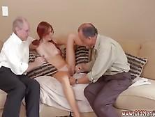 Teen Seduced Anal Threesome And Amateur Stroking Cock Frannki