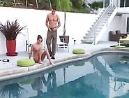 Famous Pornstar Tori Black Gets Fucked Hard Near Pool