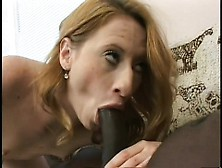 Leggy White Teen Can Barely Cope As A Big Black Cock Rams Her Sn