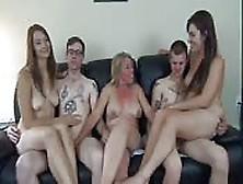 Una Orgía En Familia