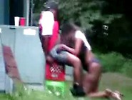 Black Hookers Sucking And Fucking At Bbq