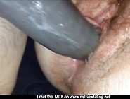 Hairy Meat Pussy Fucked Hard And Drips From Dildos Pov - Milfsex