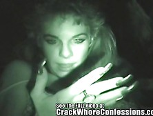 Crack Whore Fucks For A Quick Fix Or Two