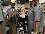 Several Black Workers Take Revenge On Their Boss Christie Steven