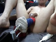 Fuck Machine With Anthro And Legacy Cock Sheath
