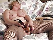 Wife Having Orgasms With Her Dildo