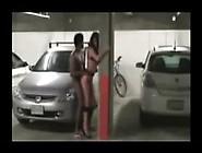Car Parking Lot Sex With Tall Princess