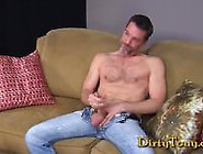 Rugged Daddy Jerks Off