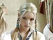 Blonde german blowjob 1990 in driveway