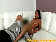 Fakeagent Her Young Pussy Gets Creamy Wet Before Internal Creamp