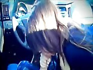 Huge Titted Babe Enjoys Hard Cock Sucking In A Car