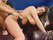 Busty Brunette Bbw Loves A Big Dick In Her Slit