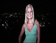 Cute Blonde Teen Girlgoing To A Public Gang Bang Orgy