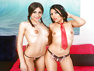 Dirty Friends In A Hot Threesome