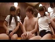 Innocent Japanese Schoolgirls Get Crazy In The Locker Room