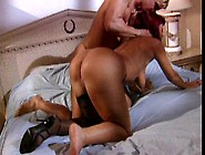 Sexy Redhead Slut Sucking Dick And Getting Plowed Hard In Bed