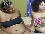 Pregnant Ebony Lesbos Please Pussies With Dildo