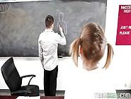 Sexy Scarlet Seduces Teacher