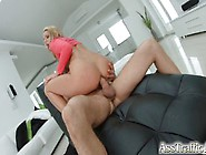 Big Anal Gapes And Ass To Mouth For Blonde Slut