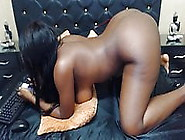 Black Latina With Big Tits And Great Butt Naked In Webcam Hd