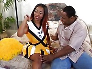 Young Ebony Teen Loves To Suck Big Black Cock