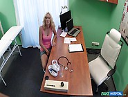 Nela Angel In Patient Caught Playing With Pussy - Fakehospital