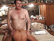 Kinky Fat Dude Fucks Young Cutie Doggy Style