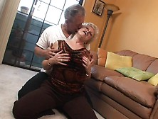Bbw-Granny-Champagne-Big-Dicked-In-Her-Smoothly-Shaved-Pussy-Hd