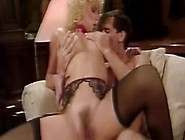 Vintage Blondie Afrodite Gets Her Trimmed Pussy Fucked By The Fi