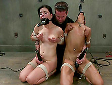 Two Angelic Babes Are Going Through The Hell Of Bdsm