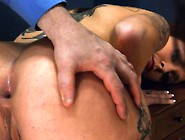 Extremely Hardcore Bdsm Rope Penetrate With Anal Action