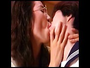 10 Very Sexy & Super Cute Japanese Lesbian Kissing Clips - Part