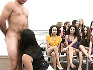 Cfnm Action With Clothed Gals Getting Nailed Well