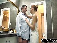 Grandpa Makes Loves To Teen Schoolgirl Fucks And Gives Facial Cu