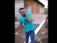 Brazil Woman Beats Up Man Real Fight