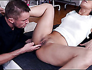 Well-Endowed Dude Licks Sweet Looking Pussy And Fucks It In Diff