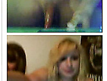 Five Young Chicks Watch Me Jerking Off My Huge Dick On Webcam Ch