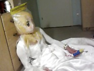 Kigurumi Bride Wedding Gown Breathplay Vibrator