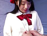 Alluring Little Japanese Schoolgirl Seduces A Horny Dude