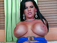Cougar Angelina Castro With Big Nipples Gets Shoved Hardcore On