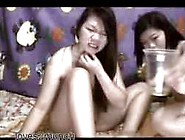 Pinay Sisters Play And Pee On Cam