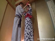 Beautiful Milf In Gets Tied And Enjoys Hardcore Bondage Sex