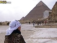 Fresh Couple Went To Their First Vacation,  To Egypt And Had A Lo
