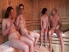 Sauna Fuck With Sandra And Me At The Spa (Part 1)