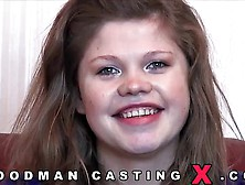 The Girl With Big Natural Tits On Casting