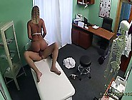 Doctor Fucking Blonde In Pantyhose