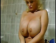 Big Tits And A Giant Clit