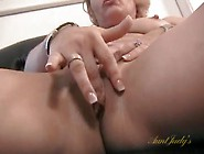 Sweet Mom In A Sundress Strips And Shows Her Hot Pussy
